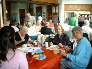 A recent Carers Project luncheon club in Sowerby Bridge