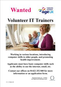 IT Volunteer poster 2