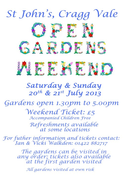 Cragg Vale-2013 Open Gardens
