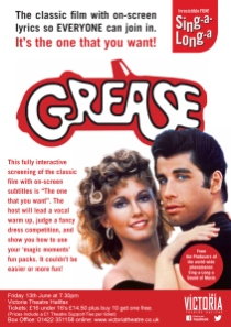 Grease screensaver
