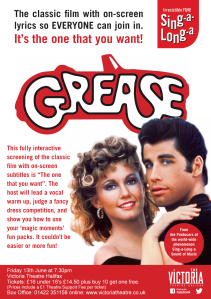 Grease screensaver