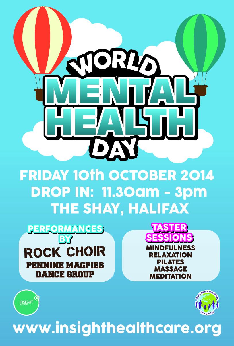 World Mental Health Day Advert
