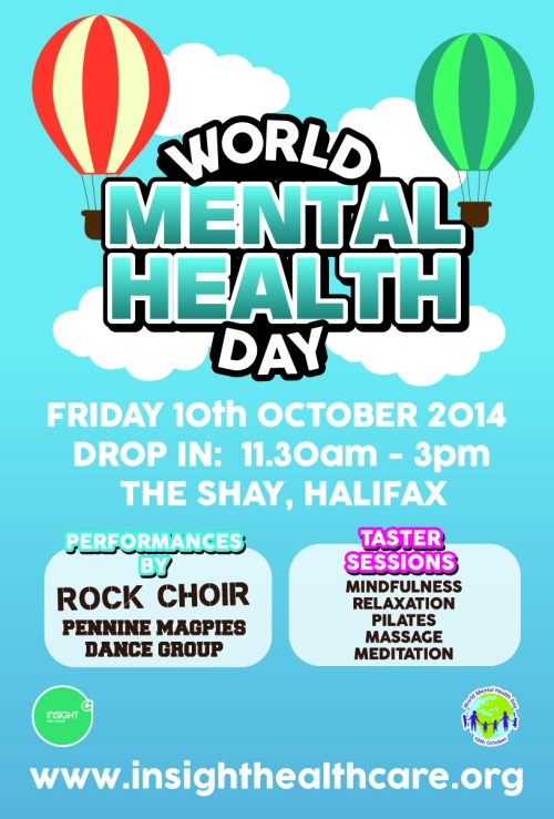 world mental health day advert