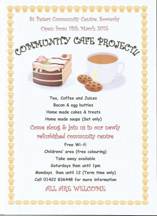 Sowerby St Paters Community Cafe