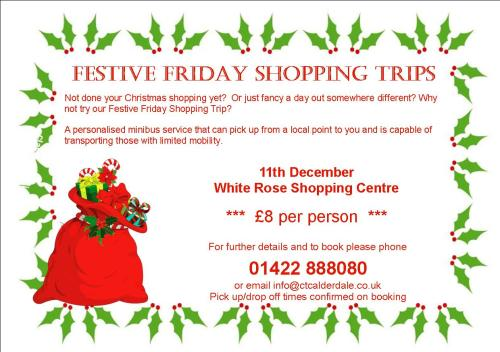 Festive Friday leaflet