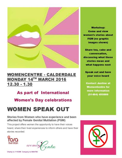 Women Speak Out - poster (IWD - viewing event)-page-001
