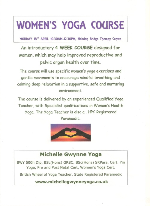 Womens Yoga - Michelle Gwynne